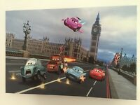 Disney Cars 2 canvas print