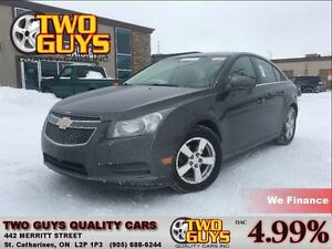 2012 Chevrolet Cruze LT Turbo LEATHER MAGS CRUISE CONTROL KEYLES
