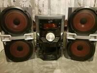Mini hifi system sound system