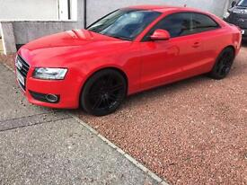 Audi A5 3.0 Quattro Red, DSG Semi Auto, 4 wheel drive, 3 door (not a3 a4)