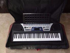 Yamaha EZ150 Keyboard, Carry Case, Manual & Song Book