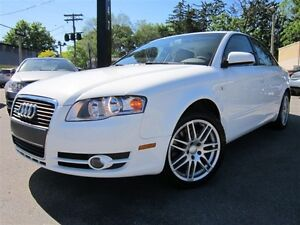 2007 Audi A4 2.0T~QUATTRO~LEATHER~SUNROOF~AUTOMATIC,AWD!!!