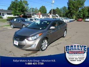 2013 Hyundai Elantra Limited! EXT Warranty! Alloy! Sunroof! Leat