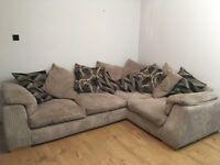 Large Corner Sofa Panama style with Twister Chair