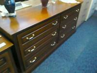 Double chest of drawers #32223 £79