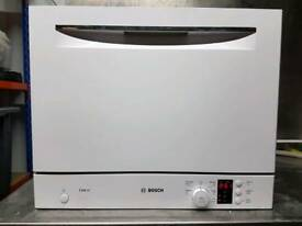 Bosch SKS60E02GB Exxcel Table Top Freestanding Dishwasher, used.
