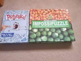 2 x puzzles