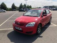 2005 TOYOTA COROLLA 1.6L VVT-I AUTOMATIC PETROL 5 DOOR HATCHBACK WITH FULL SERVICE HISTROY AND MOT
