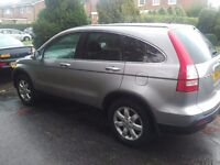 Honda CRV ES Auto Very Low Mileage 35000 and FSH and Long MOT High Spec Sat Nav Immaculate 7399 GBP