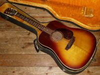 Gibson J-45 dreadnought acoustic 1971