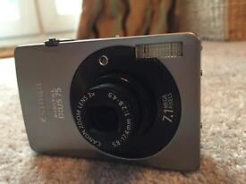 Canon Digital Ixus 75 7.1mp (with all original packaging)