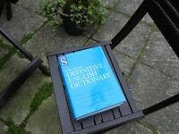 LARGE DEFINITIVE ENGLISH DICTIONARY
