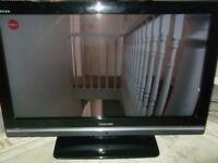 "TOSHIBA REGZA MODEL RV32635D 32"" 1080 HD TV WITH 4 HDMI PORTS"