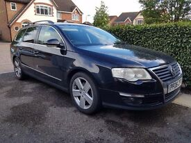 VW Passat Estate Sport Diesel Leather Manual Towbar FSH