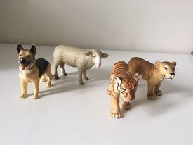 Schleich Montessori 4 Animal figures