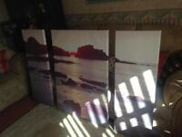 Next Sea View Split Canvas Large