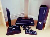 Boxed master system games console