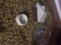 2 x rotastak hamster cages plus accessories/spares