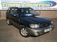 ***2003 Subaru Forester X ALL WEATHER **ONLY 74k**12 MONTHS MOT** 4X4 **( all road jeep xc70 )