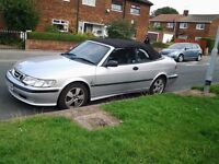 FOR SALE SAAB 9.3 AUTOMATIC CONVERTIBLE OR MAY CONSIDER SWAP FOR AUTOMATIC MUST HAVE 4 DOORS