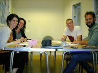 Spanish, Italian, French, Brazilian-Portuguese and German courses. Start 10 October.