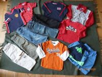 Large selection of boys clothes age 2-3 years