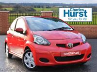 Toyota Aygo VVT-I PLUS (red) 2012-01-31
