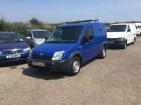 53REG FORD TRANSIT CONNECT SWBASE SIDE LOADER ROOF RACK LOW MILEAGE YRS MOT IN VGC LOVELY DRIVER