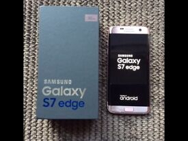 Samsung galaxy s7 edge 32gb EE rose pink gold