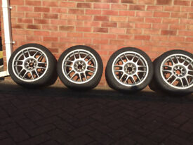 """16"""" Multi Fit Alloys & Tyres £100 OVNO"""