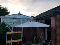 Garden parasol / umbrella / sunshade