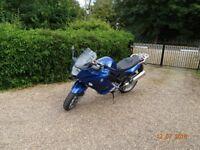 2007 BMW F800ST Blue