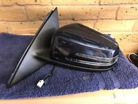 Mercedes c class (204) passenger wing mirror from a coupe.