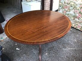 Oval Dining Table good quality