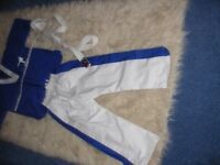 South Eastern Tae-kwondo Group suit new, Suitable for approx 8/10 year old