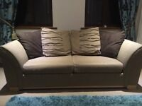 Two seater sofa bed. Like new.