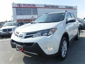 2015 Toyota RAV4 Limited\AWD\Leather Heated Seats\Sunroof\Navi