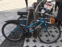 Bike + lock