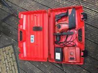 Hilti te6-a36 cordless hammer drill