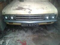 1968 Vauxhall Ventora for sale, garage find - for restoration or customisation
