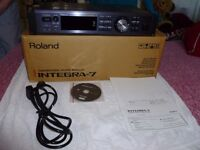 ROLAND INTEGRA-7 SOUND MODULE NEVER BEEN USED
