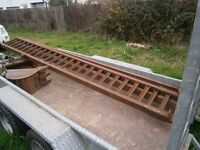 RAMPS HEAVY DUTY PLANT RAMPS SKIDS FOR TRACTOR DIGGER PLANT MACHINERY