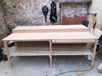 Long double workbench