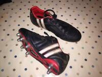 Patrick Leather Rugby Boots, size 9.