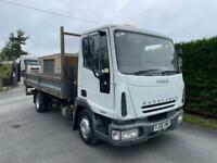 2006 Iveco 75E17 7.5 Ton Dropside Tipper with Rear Tail Lift No Vat