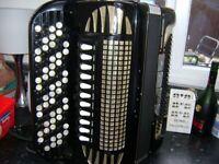 excelsior chromatic accordion scottish musette tuned