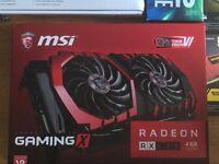 Msi Rx 480 gaming x 4 g