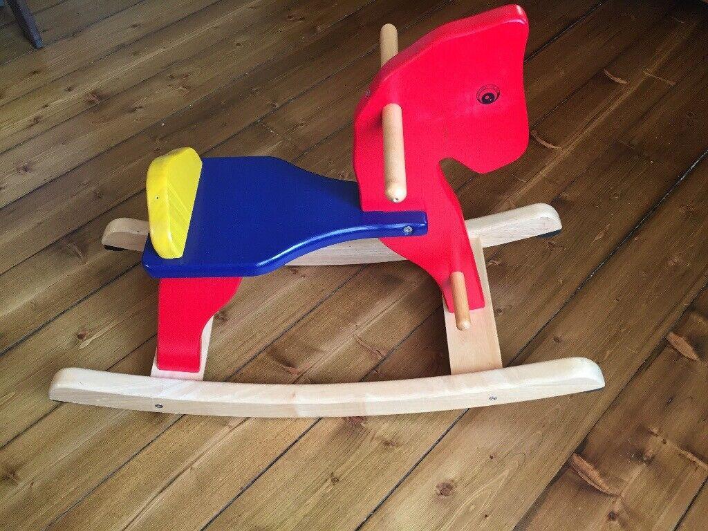 Wooden Rocking Horse In Trinity Edinburgh Gumtree