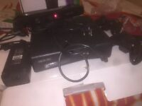 Microsoft XBOX 360 Console And Kinect Bundle 4gb Matte Black Console Including 15 ganes