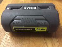 Ryobi 36v 5.0a battery